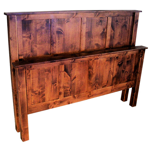Pioneer Panel Bed Yoder Handcrafted Mission Furniture