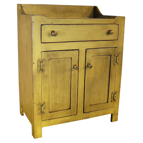 Pioneer Small Dry Sink Yoder Handcrafted Mission Furniture